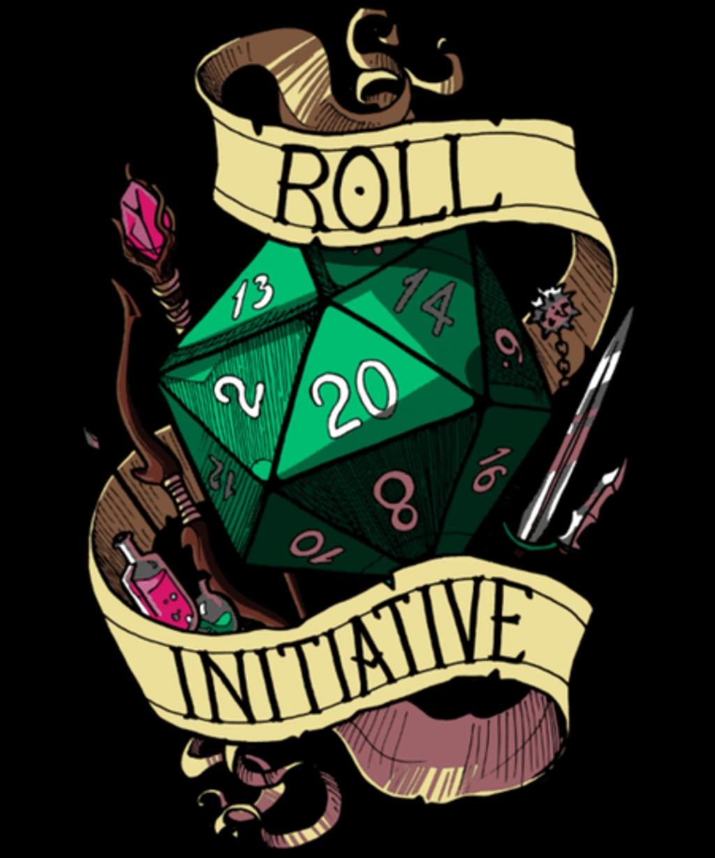 Qwertee: Roll Initiative