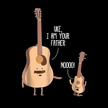 BustedTees: Ukulele Guitar Music