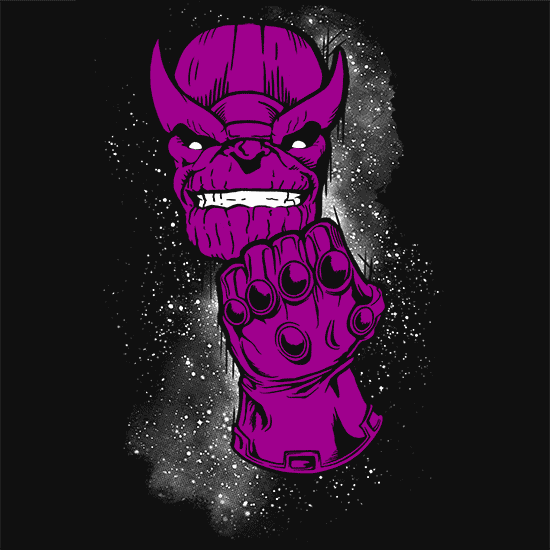 Textual Tees: Thanos