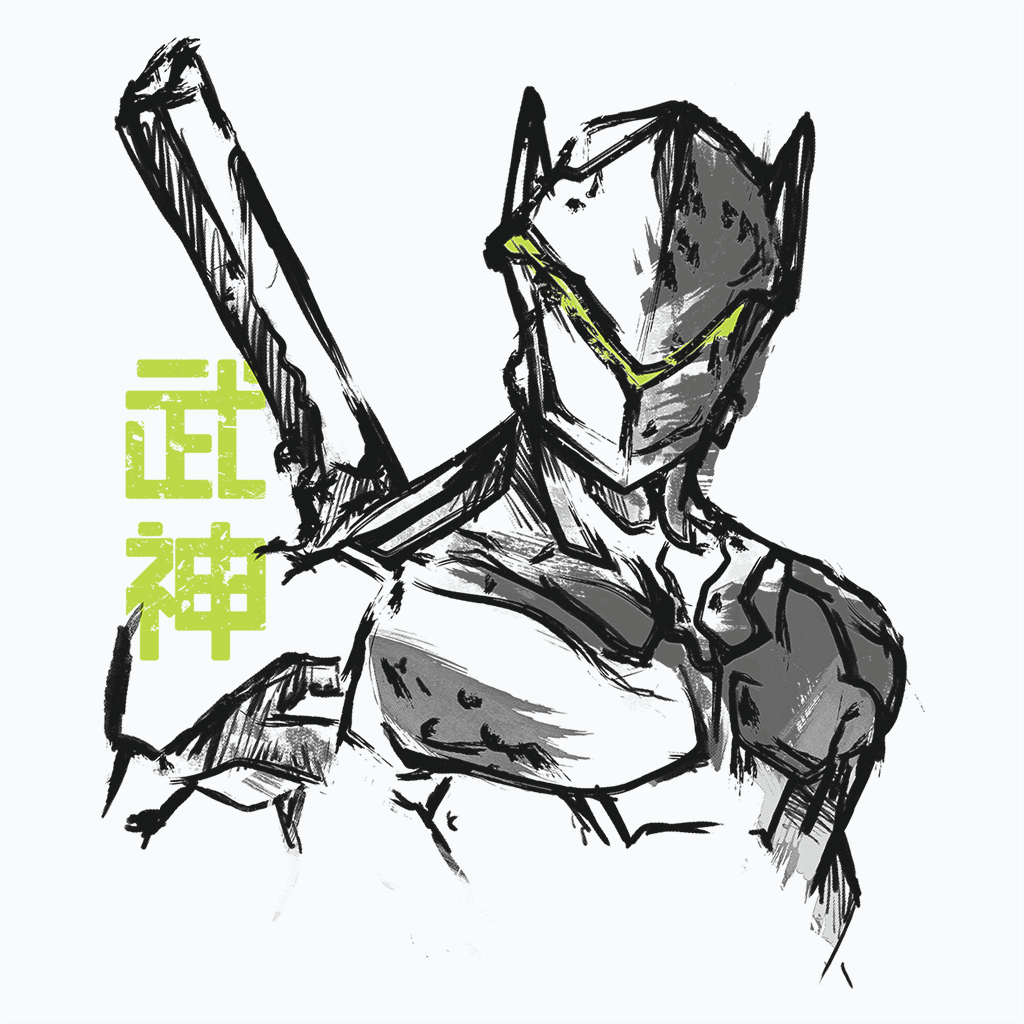 Pop-Up Tee: Genji
