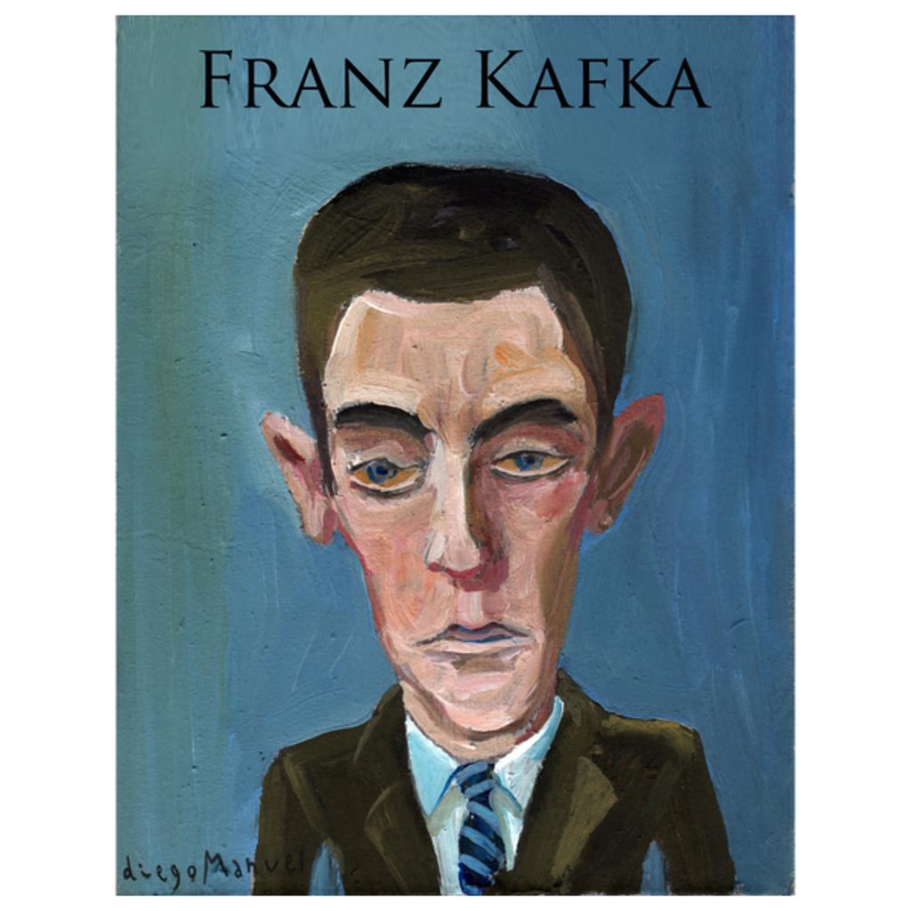 NeatoShop: Franz Kafka portrait