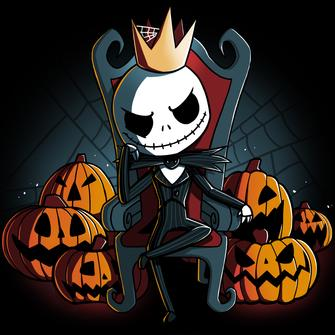 TeeTurtle: King of Halloween Town