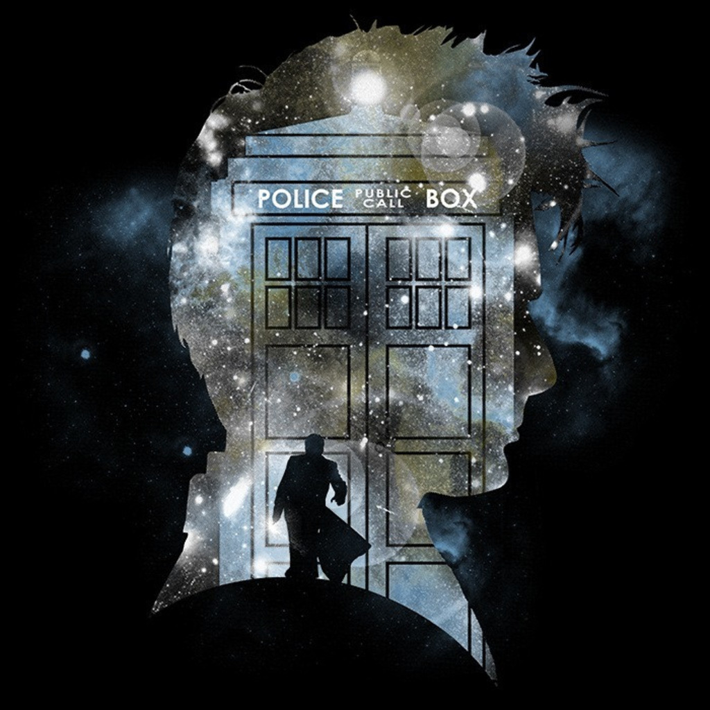 We Heart Geeks: The Doctor's Silhouette - Men's T-Shirt