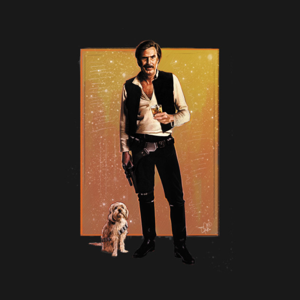 TeePublic: HAN BURGUNDY T-Shirt