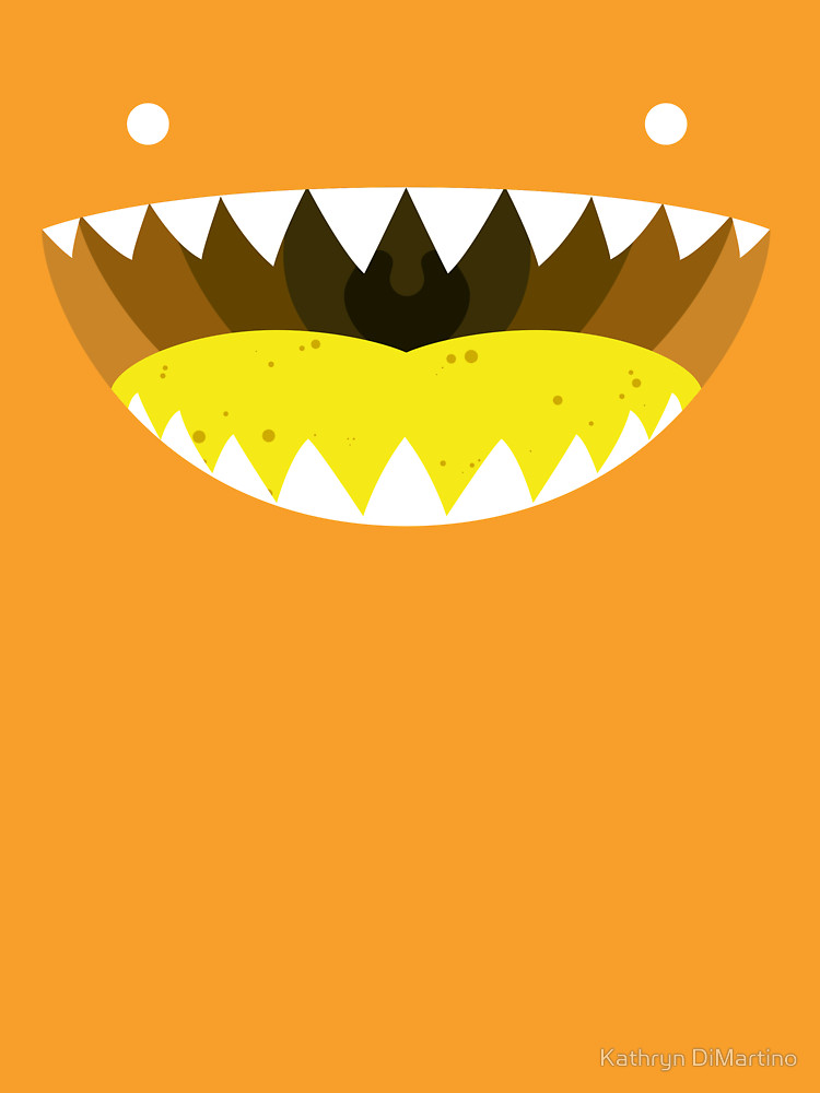 RedBubble: Mouth Tee Yellow