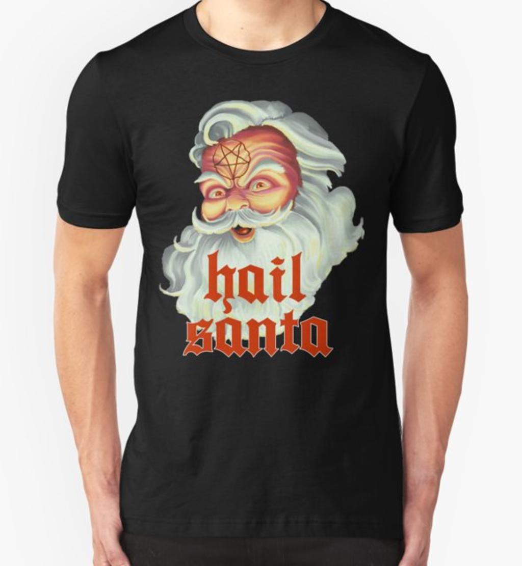RedBubble: Hail Santa
