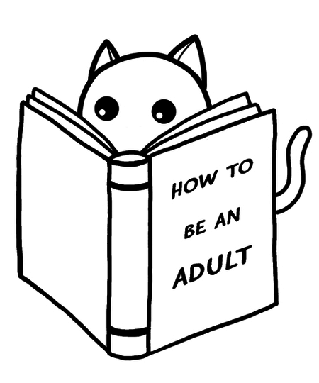 Qwertee: How to be an adult