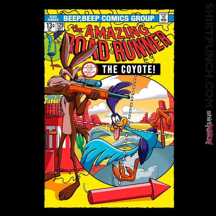 ShirtPunch: The Amazing Road Runner