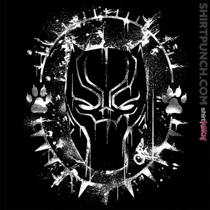 ShirtPunch: Wakanda Splatter