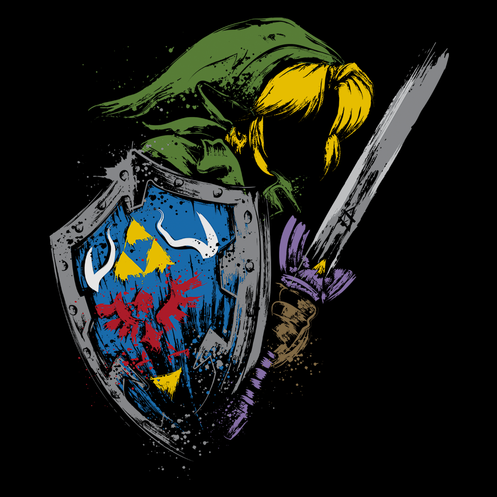 Pop-Up Tee: Hyrule Warrior