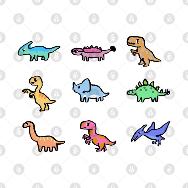 TeePublic: Mini Dinos