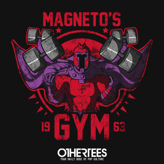 OtherTees: Magneto's Gym