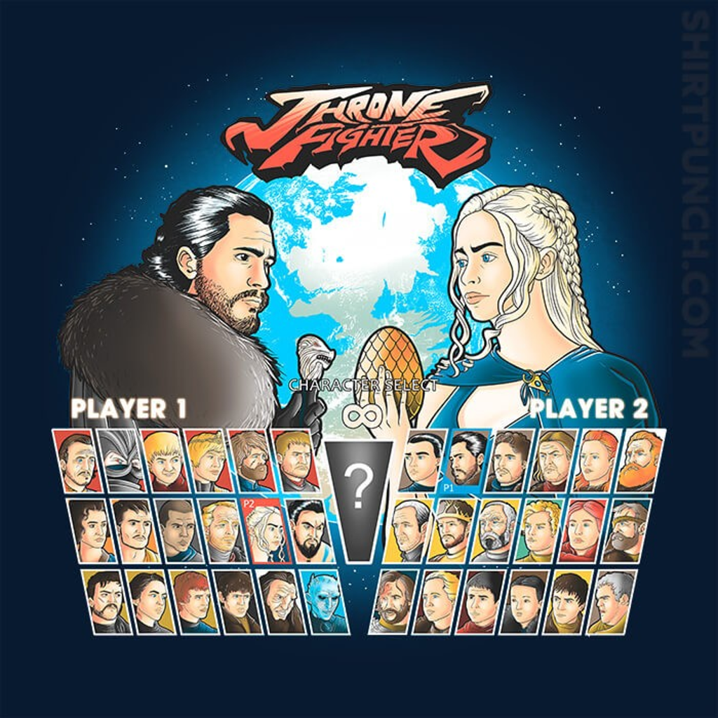 ShirtPunch: Throne Fighter
