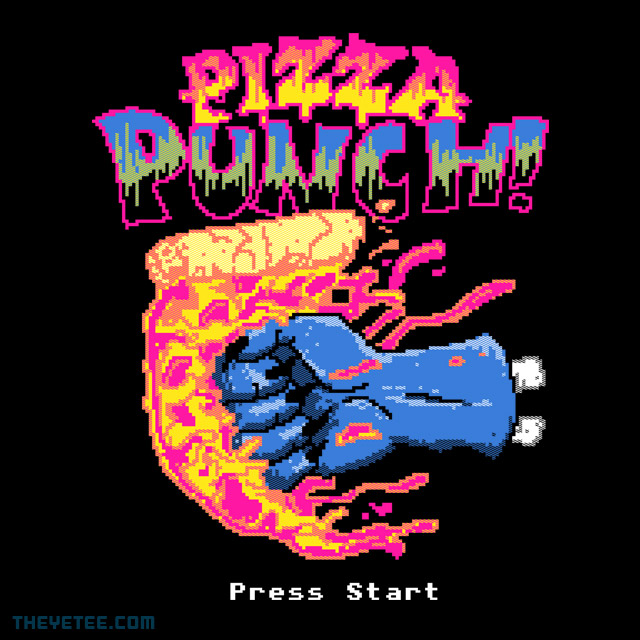 The Yetee: Pizza Punch!