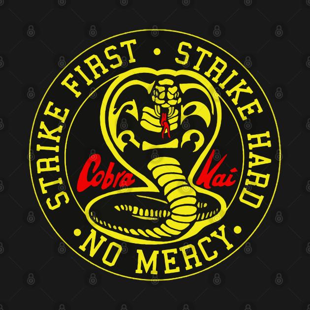 TeePublic: Cobra Kai No Mercy
