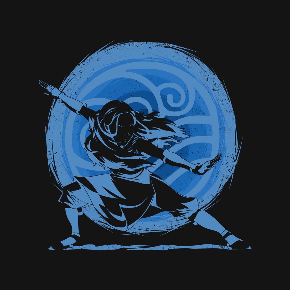 TeeFury: Water Element Master