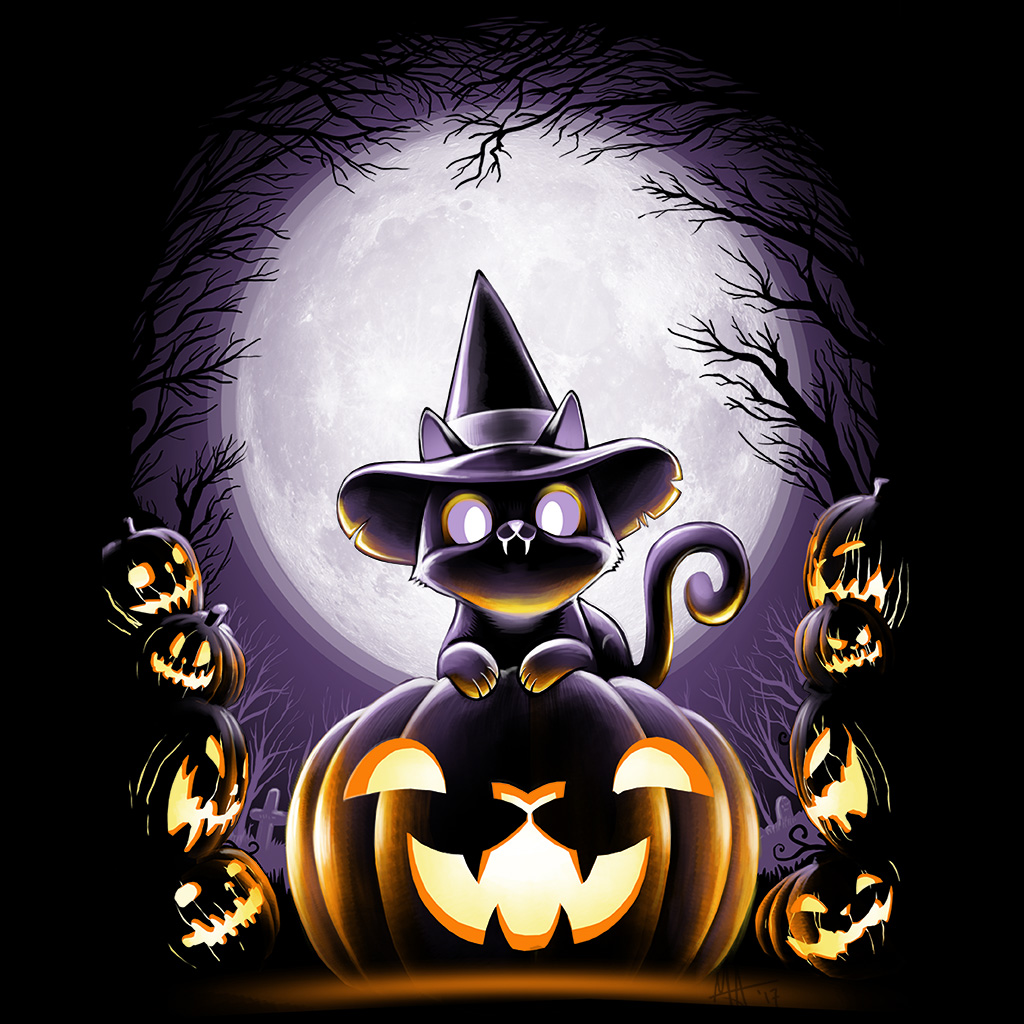 TeeTee: Witch-Cat Night
