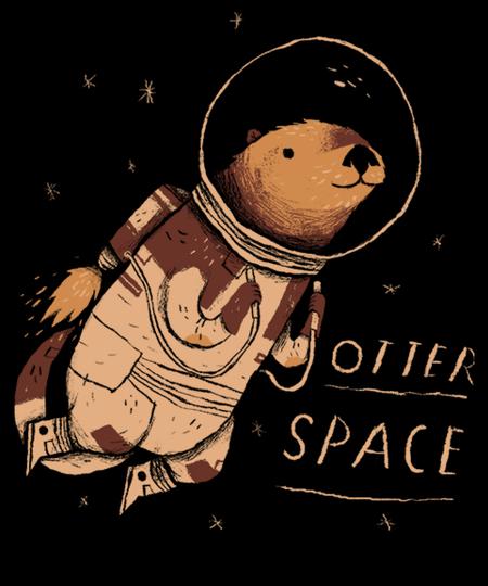Qwertee: otter space