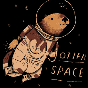 Qwertee: otter space