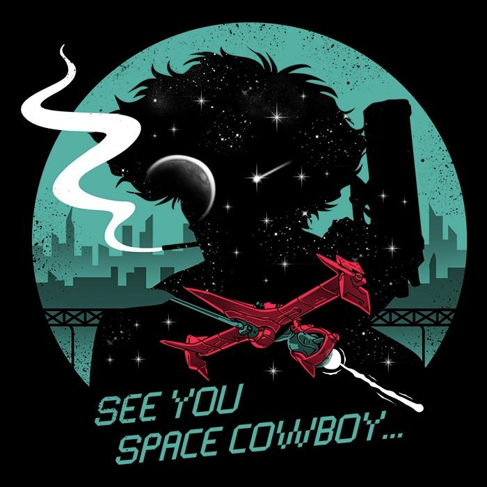Once Upon a Tee: Cowboy in Space