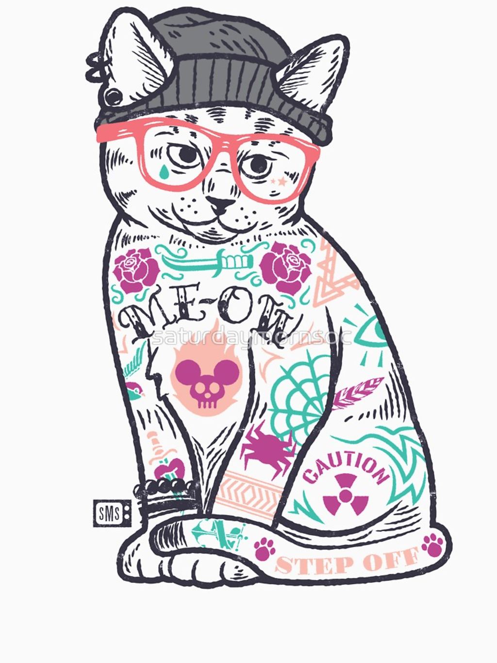 "RedBubble: Cats Put the ""Me"" in MEOW"