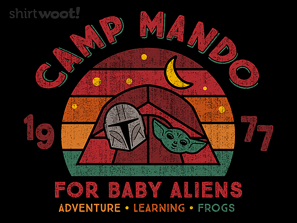 Woot!: Camp Mando