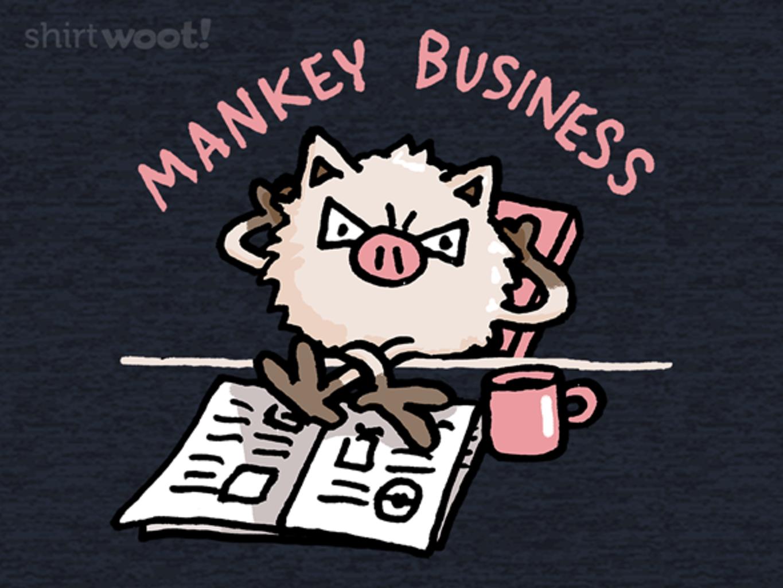 Woot!: Mankey Business