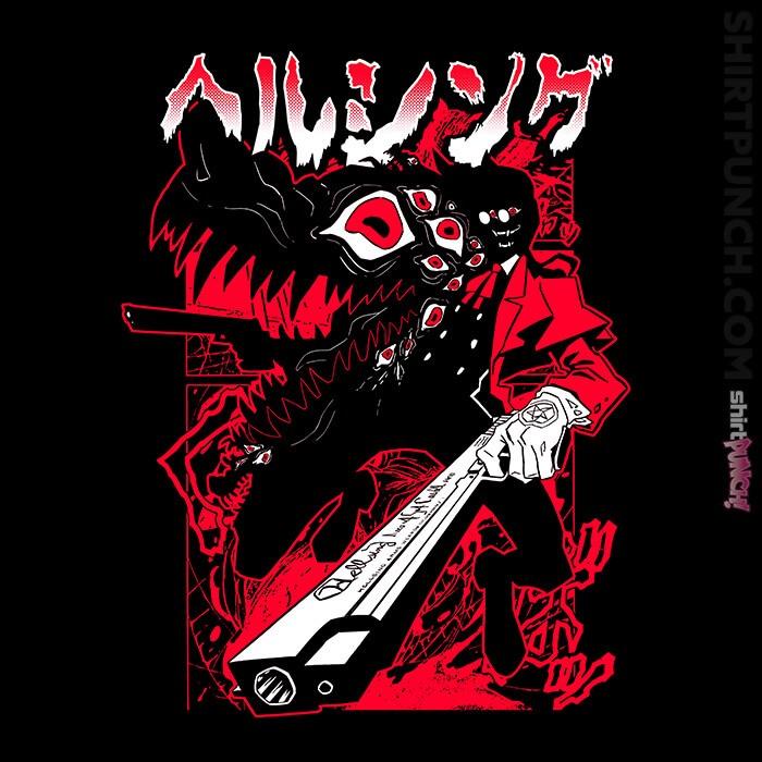 ShirtPunch: Hellsing Weapon Alucard
