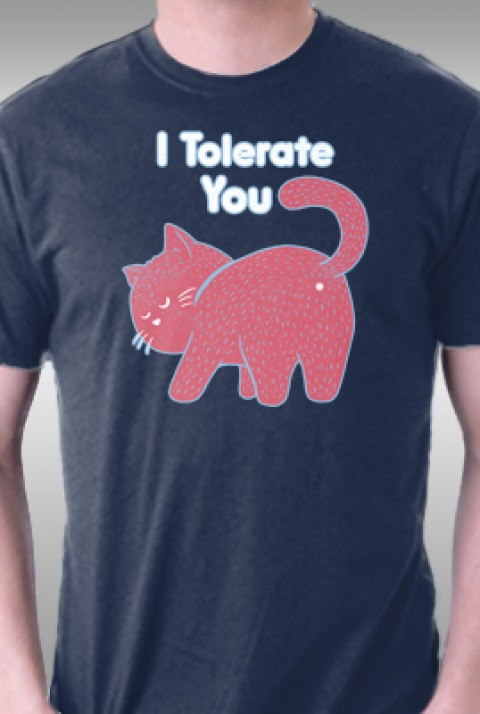 TeeFury: I Tolerate You