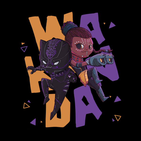 NeatoShop: Panther and Shuri