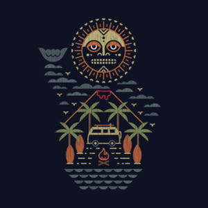 Threadless: Freaky Tiki