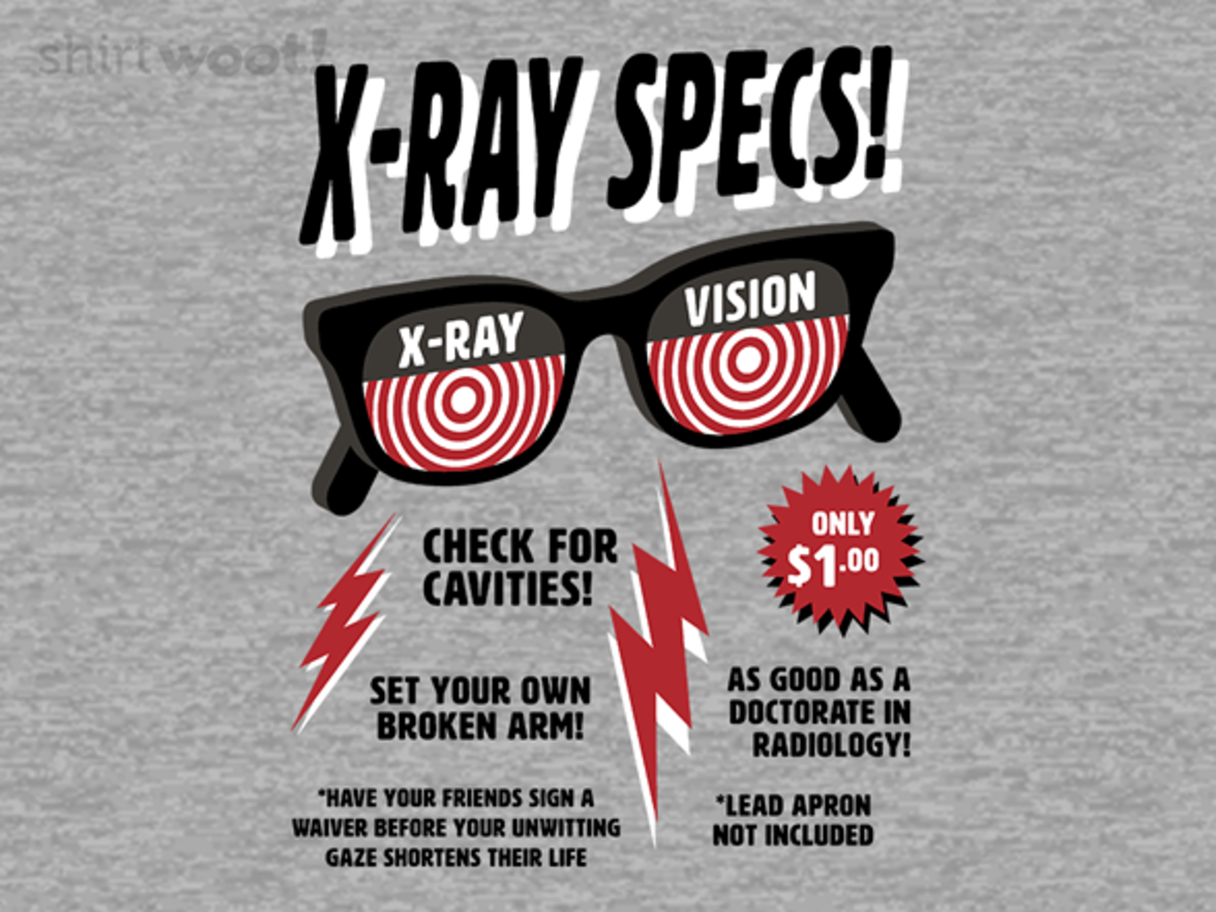 Woot!: X-ray Specs