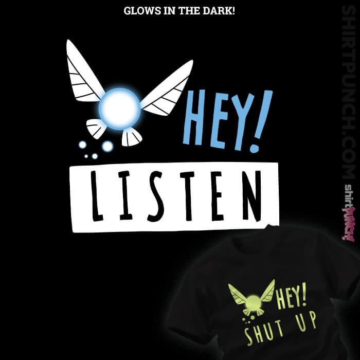 ShirtPunch: Hey Shut Up