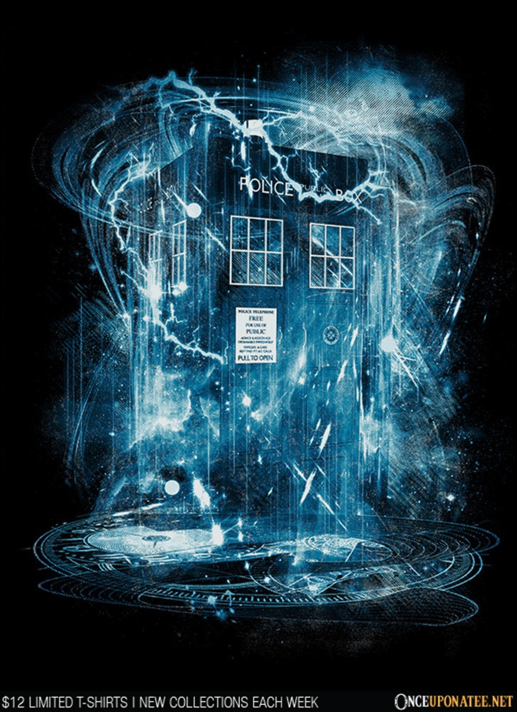 Once Upon a Tee: Space and Time Storm