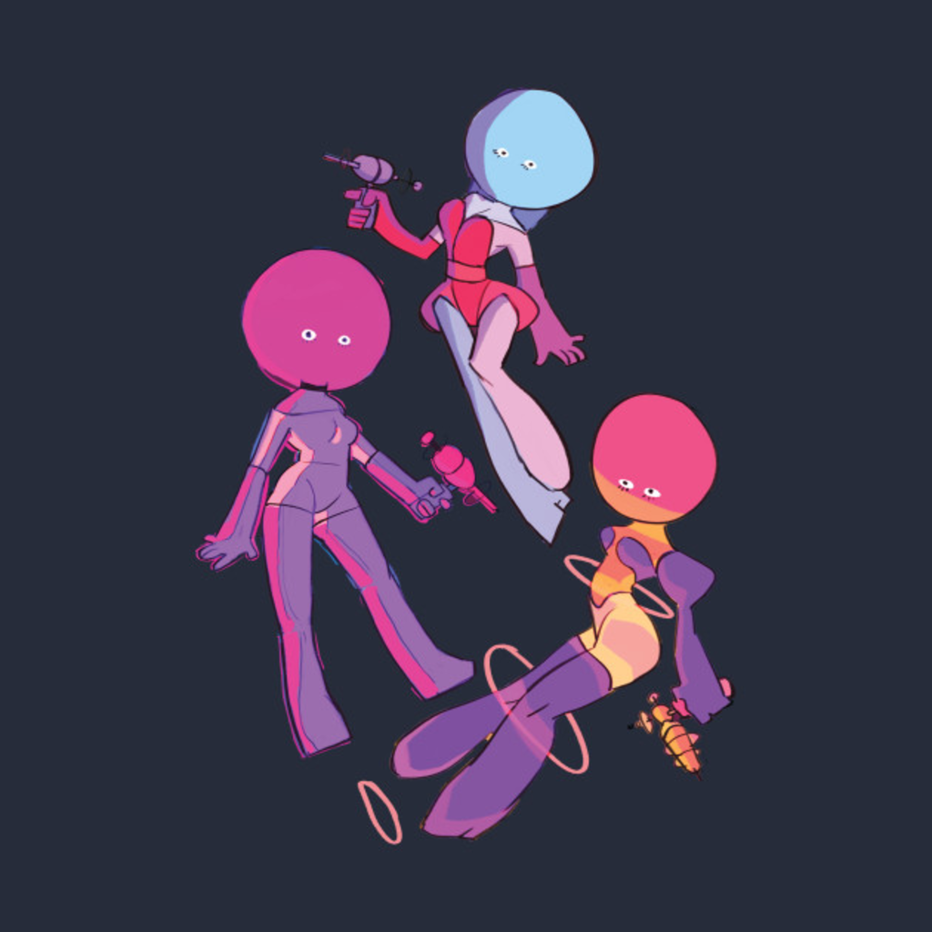 TeePublic: Space Girls