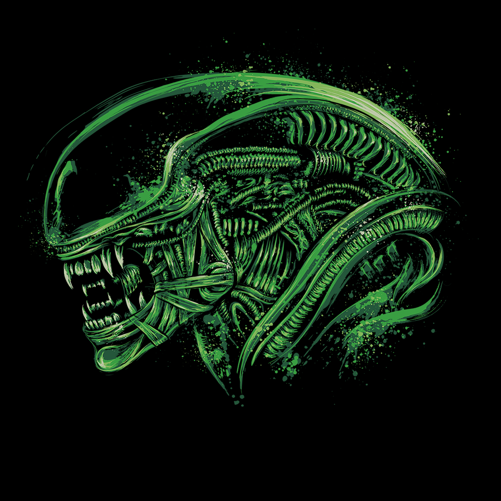 Pop-Up Tee: Space Nightmare