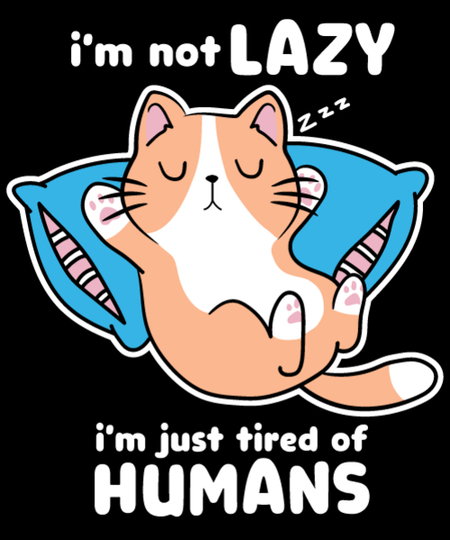 Qwertee: tired of humans