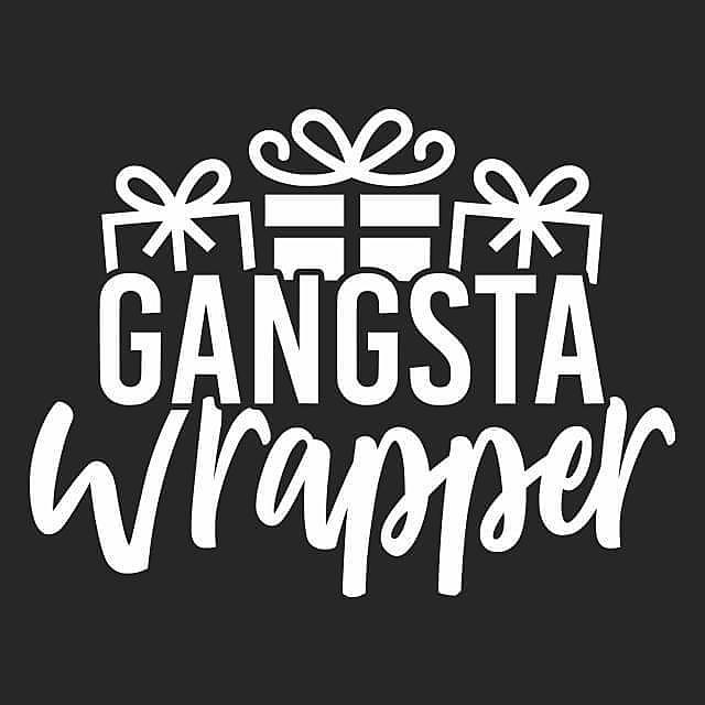 Textual Tees: Gangsta Wrapper