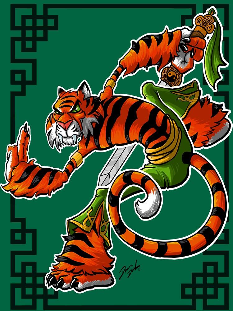 RedBubble: Tai Chi Tiger