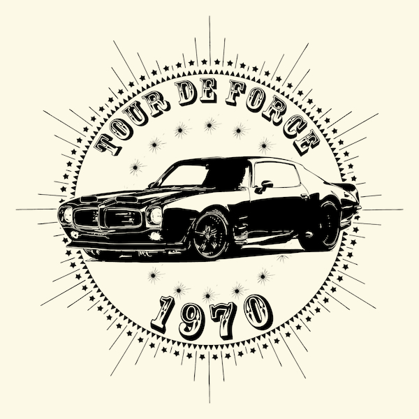 NeatoShop: Vintage Classic Car 1970 Tour De Force Firebird Pont