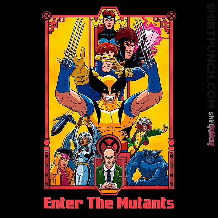ShirtPunch: Enter The Mutants