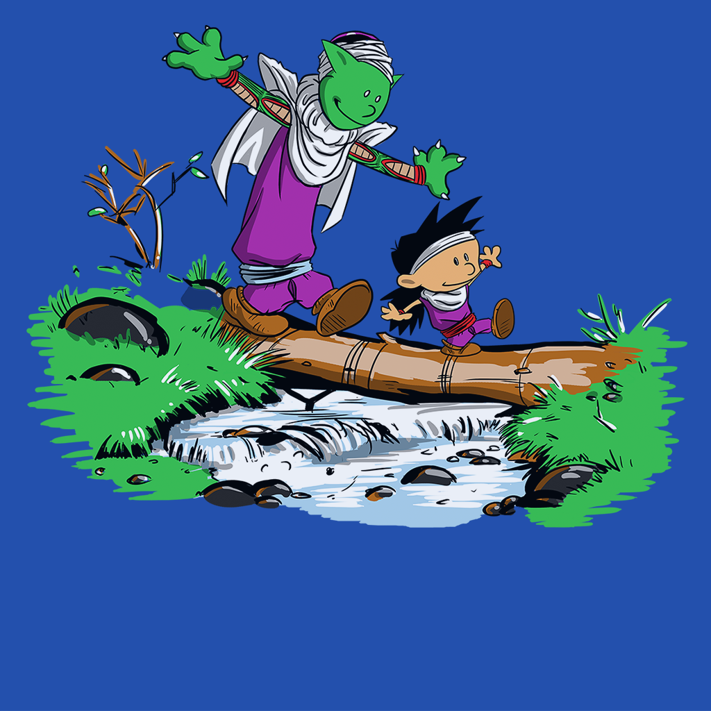Pop-Up Tee: Gohan and Piccolo
