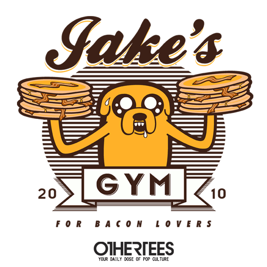 OtherTees: Bacon Lovers Gym