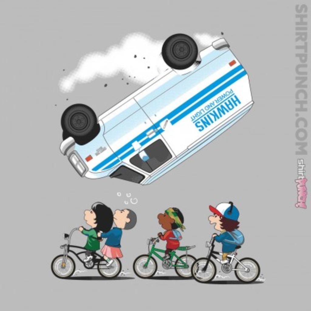 ShirtPunch: Stranger Peanuts