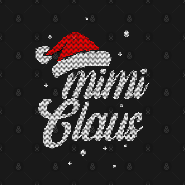TeePublic: Christmas Santa Hat - Women Mimi Claus Gift For Mimi