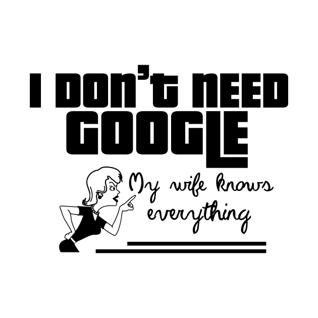 TeePublic: I Dont Need Google
