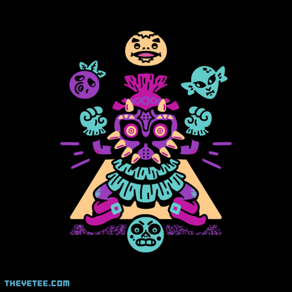 The Yetee: Masked Boy