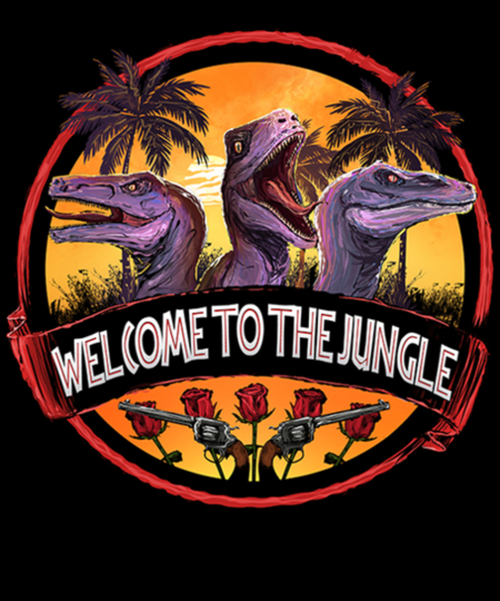 Qwertee: Welcome to The Jungle