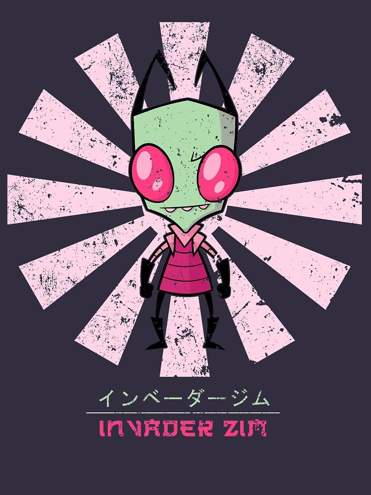 RedBubble: Invader Zim Retro Japanese