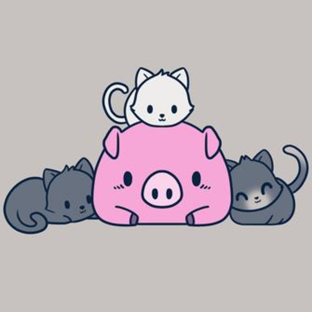 TeeTurtle: Pig And Pals
